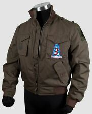 Battlestar Galactica Lee Apollo Adama Costume Bomber Jacket Adult