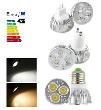 9W LED Dimmable E27 GU10 MR16 3*3W Cool Warm White Spot Bulb Lamp Light CE&RoHS