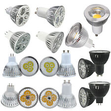 10High Power LED COB 5W 9W 12W 15W GU10 MR16 LED Spot Light Bulb Lamp Downlights