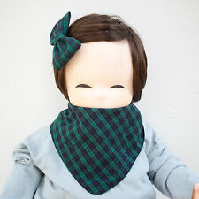 Cute Newborn Baby Scarf Bib Girl Boy Unisex Cotton Infant Toddler Handmade Eb88