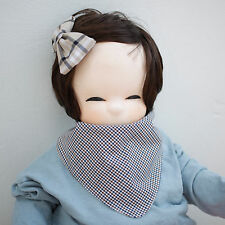 Cute Newborn Baby Scarf Bib Girl Boy Unisex Cotton Infant Toddler Handmade Eb96