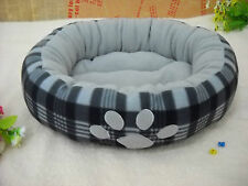 on sale pet cat dog bed  good quality thick soft colorful footprint P24 kennel