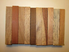 """WOOD PEN BLANKS 5"""" X 3/4"""" X 3/4"""".CHOOSE FROM 41 SPECIES. SELECT QUANTITY"""