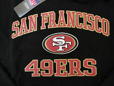 NFL TEAM APPAREL SAN FRANCISCO 49ers HOODY SWEATER PULLOVER AMERICAN FOOTBALL !!