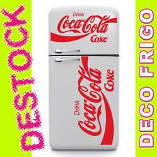 2 STICKERS DECO CUISINE FRIGO COCA COLA SODA DECORATION DESIGN - 24 COULEURS