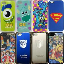 iphone 5 5s case cover for Apple - Monster inc One Piece Superman Transformer