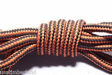 """ORANGE 47""""inch Sneaker Hiking Skate Round Replacement BOOT Shoe LACES Shoelaces"""