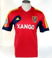 Adidas ClimaCool MLS Real Salt Lake Red Short Sleeve Soccer Jersey Mens NWT