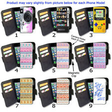 iPhone Samsung Wallet Flip Case Card Phone PU Leather COVER Collection M4