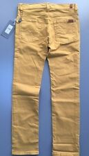 New Boys 7 for All Mankind Slim Slimmy Pants Jeans Haywood Yellow Size 8 $79
