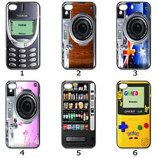 iPhone Samsung Hard CASE Phone COVER Classic Vintage Funky Collection M5
