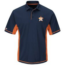 """Houston Astros Majestic MLB """"Top of the Inning"""" Men's Performance Polo Shirt"""