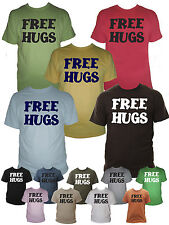 Free Hugs Mens T-Shirt Sizes Small - XXL Various Colours