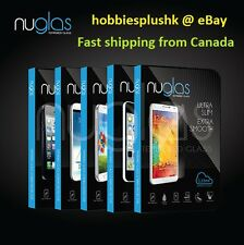 Nuglas tempered glass screen protector Apple iPhone Samsung Galaxy Google Nexus