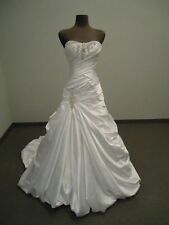 New White/Ivory Wedding Dress Bridal Gown stock size :6-8-10-12-14-16