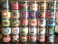 Bath & Body Works 3 Wick Scented Candle 14.5 oz MUST BUY 2 OR MORE FREE SHIPPING