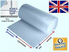 SMALL BUBBLE WRAP INDUSTRIAL STRENGH PACKAGING 300 500 750 1000 1500