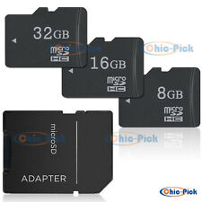 8G 16G 32GB Micro SD SDHC High Capacity Secure SD/TF Flash Memory Card Class 10