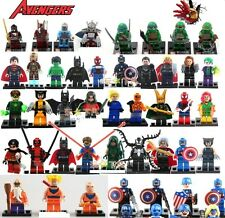 LEGO SUPER HEROES MINIFIGURES & CUSTOM SUPERHEROS MINI FIGURES  NEW