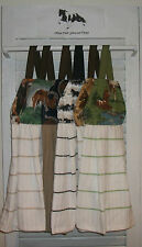 Horses Pony Paint Pinto Palomino Bay Gray Dun Hanging Kitchen Towel HCF&D