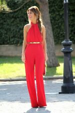 ZARA RED JUMPSUIT WITH BOW AT THE BACK XS-L Ref. 7767/390