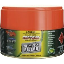 Septone Metal Tech Stainless Steel & Fibre Reinforced Putty - 500g or 1Kg