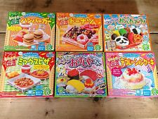 Kracie popin cookin happy kitchen Sushi Bento Cake Hamburger Donut from JAPAN