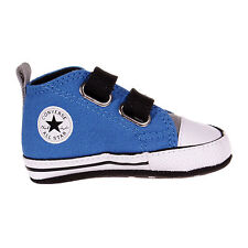 CONVERSE First Star 2V Infant Baby Velcro Crib Trainer Shoe Blue