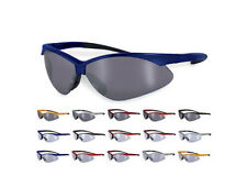 Snoqualmie CF Sunglasses Shatterproof Safety Shooting Glasses Mirrored Clear IO