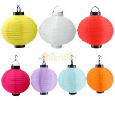 """New Solar Light Chinese Lantern Weeding Party Ourdoor Home Decor 10"""""""