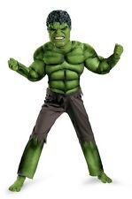 Marvel The Avengers Hulk Muscle Child Costume