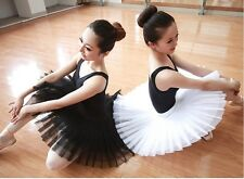 New Adult Professional Ballet Hard Organdy Platter Tutu Skirt Dance Dress 3color