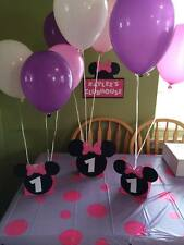 Minnie Mouse Balloon Centerpieces  personalized age.Great for birthday parties