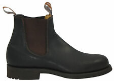 RM Williams Gardener, Treaded Rubber Sole, Oiled Kip Leather