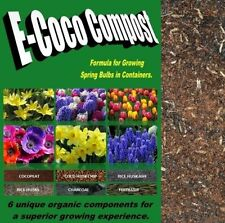 COMPOST FOR GROWING SPRING BULBS IN CONTAINERS & POTS, ORGANIC PLANTING SOIL MIX