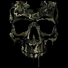 Special Ops Skull Camouflage Camo T-Shirt Tee