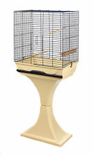 ANNI Bird Cage and stand suitable for Canaries, Finches, Budgies