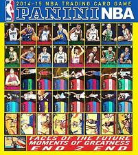 PANINI HOOPS CARD NBA 2014 - FACE OF THE FUTURE - MOMENTS GREATNESS - END 2 END