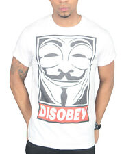Disobey Mask T-Shirt V For Vendetta Face Dope Clothing Swag Anonymous Obey