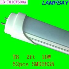 25PCS/LOT LED TUBE T8  lamps 2ft energy saving for existing fluorescent fixtures