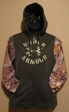 Under Armour Cold Gear Green Antler Realtree Camo Hoodie RARE M, L, XL NWT