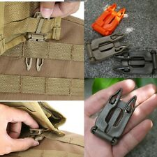 5 Pcs 25mm Molle Strap EDC Outdoor Backpack Bag Webbing Connecting Buckle Clip