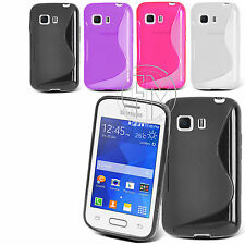 S-Line Slim TPU Sports Wave Gel Phone Case for Samsung Galaxy Young 2