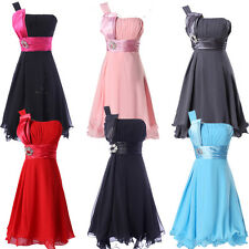 CLEARANCE!! SEXY Wedding Graduation Party Bridesmaid Prom FORMAL Evening Dresses