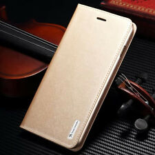 Deluxe Genuine Magnetic Flip Wallet Leather Stand Case Cover For iPhone 7/7 Plus