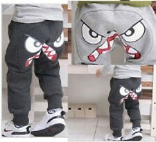 Boys Pants Fancy Cartoon Cotton Great Leggings Kids Girls Clothes 3-7Y Top Sell