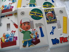HANDY MANNY - TOOLS - DECORATED LIGHT SWITCH COVER - MANY TO CHOOSE FROM