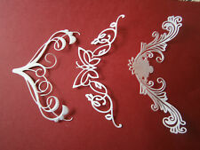 10 DARRINGTON OR BUTTERFLY OR VICTORIAN ROMANCE LARGE SWIRLS ALL COLOUR XMAS /