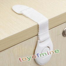 Infant Baby Child Kids Toddler Safety Fridge Drawer Cupboard Door Cabinet Locks