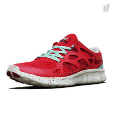 NEW IN BOX NIKE WOMEN'S FREE RUN 2 EXT RUNNING SHOES 536746 601 RED GREEN